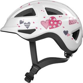 ABUS Anuky 2.0 ACE Helmet Kids white heart